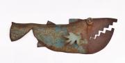 Chris Kircher, Fisch aus Stahlschrott 1