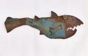 Chris Kircher, Fisch aus Stahlschrott 2