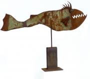 Chris Kircher, Fisch aus Stahlschrott 5
