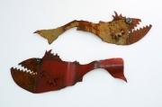 Chris Kircher, Fische aus Stahlschrott 2