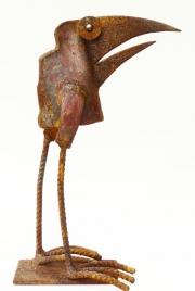 Chris Kircher, Skulpuren aus Schrott, Vogel 35