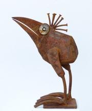Chris Kircher, Skulpuren aus Schrott, Vogel 40