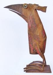 Chris Kircher, Skulpuren aus Schrott, Vogel 41