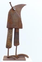 Chris Kircher, Skulpuren aus Schrott, Vogel 42
