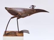 Chris Kircher, Vogelskulptur aus Schrott 1