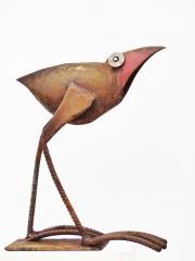 Chris Kircher, Vogelskulptur aus Schrott 40