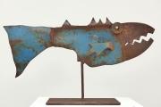 Chris Kircher, Fisch aus Stahlschrott 3