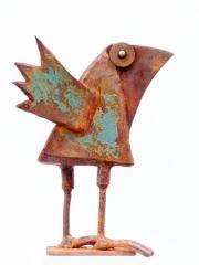 Chris Kircher, Skulpuren aus Schrott, Vogel 32
