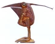 Chris Kircher, Skulpuren aus Schrott, Vogel 33