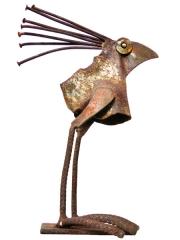 Chris Kircher, Skulpuren aus Schrott, Vogel 34