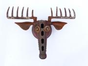 Chris Kircher, Skulpuren aus Schrott, Vogel 36