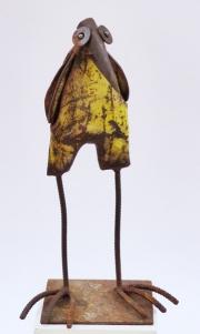 Chris Kircher, Skulpuren aus Schrott, Vogel 37