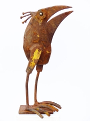 Chris Kircher, Skulpuren aus Schrott, Vogel 39